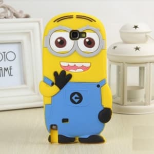 3D Two Eyes Minion Despicable Me Case for Galaxy Note 2