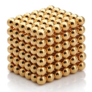 NeoCube -G- Gold Magnetic Balls Puzzle