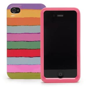 Kate Spade New York Tropical Stripe Hard Case for iPhone 4 4S