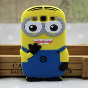3D Minion Despicable Me Case for Galaxy S3 Both Eyes
