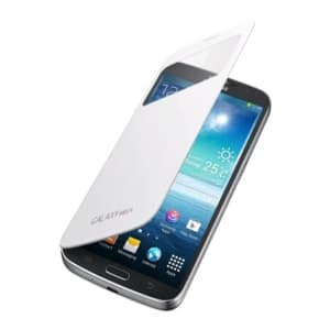 Samsung S-View Flip Cover Case White for Galaxy Mega 6.3
