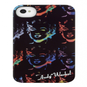 Incase Marilyn Monroe Black Andy Warhol Collection Snap Case for iPhone 4 4S