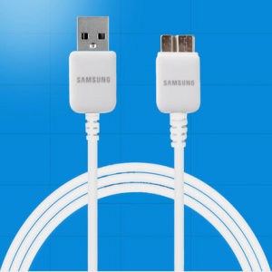 Samsung Galaxy Note 3 USB 3.0 Data Cable-Original Samsung OEM ET-DQ10Y0WE