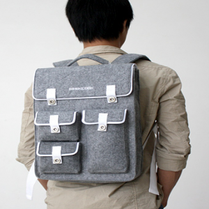GeekCook Felt Laptop Backpack Bag