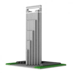 Loz Nano Block Architecture Series Shanghai SWFC