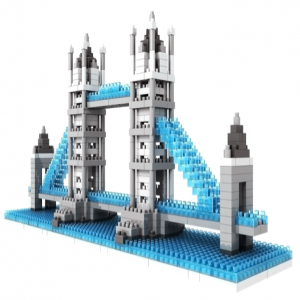 Loz Nano Block Architecture Series London Tower Bridge