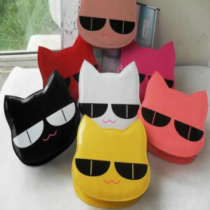 Cute Cat 3D Vinyl Purse