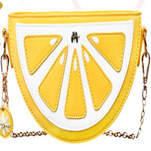 Half Lemon 3D Chain Bag Purse