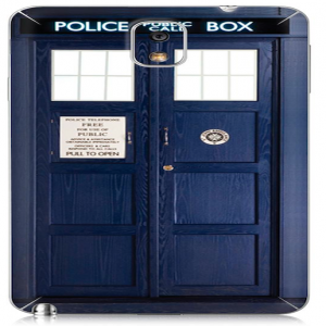 Tardis Doctor Who Police Box Time Machine for Samsung Galaxy Note 2 Case