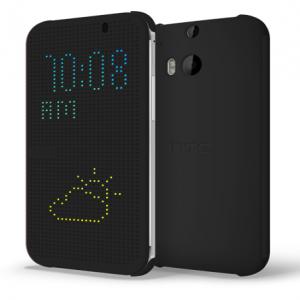 HTC M8 Dot View Case Black