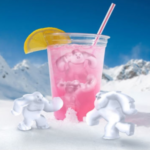 Yeti Abominable Snowman Snow Monster Ice Cube Tray