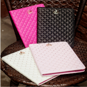 High Fashion Princess Crown Case for iPad Mini and iPad Mini 2 Retina