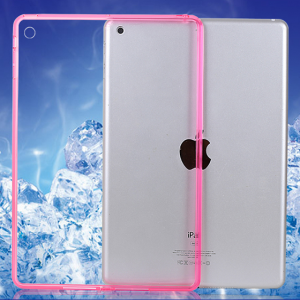 Thin See Through Case with Bumper For iPad Mini and iPad Mini 2 Retina