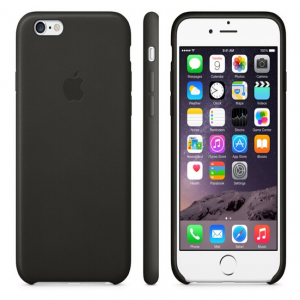 Leather Case for Apple iPhone 6 Black