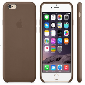 Leather Case for Apple iPhone 6 Olive Brown