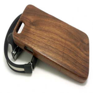 Hand Crafted Rosewood Wood Slider Case for iPhone 6 Plus