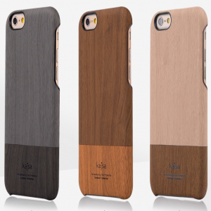 Kajsa Elegant Wooden Slider Case for iPhone 6