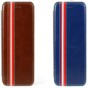 Leather Stripe Fashionable iPhone 6 Plus Case