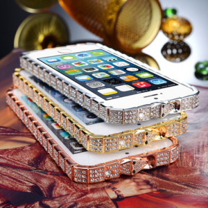 Ultra Bling Crystal Flare Bumper Case for iPhone 6