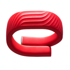 Jawbone UP24 Wireless Activity Tracker Wristband Red Large