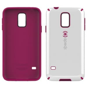 Speck Candyshell Case Samsung Galaxy S5 White Fuschia