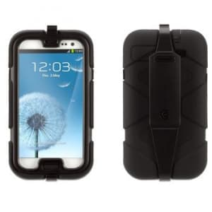 Griffin Survivor Black with Belt Clip for Samsung Galaxy S3 III