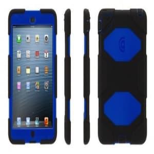 Griffin Survivor Case for iPad Mini - Black/Blue