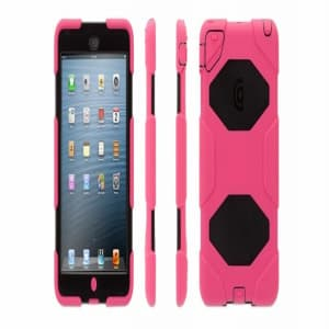 Griffin Survivor Case for iPad Mini - Pink/Black