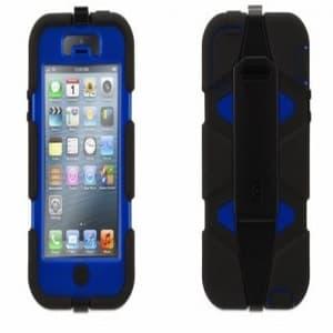 Griffin Survivor Case for iPhone 5 5S Black Blue