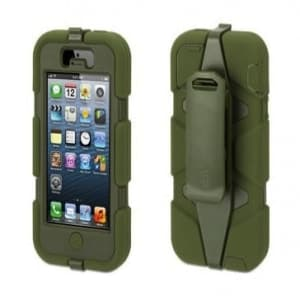 Griffin Survivor Case for iPhone 5 5S Olive Green
