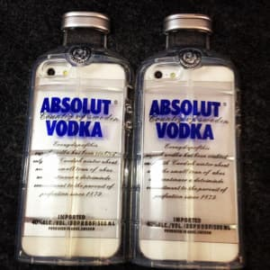 Fun Party Absolute Vodka Alcohol Bottle Shape 3D iPhone 6 4.7 inch TPU Case