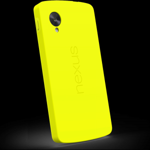 Official Nexus 5 Bumper Case Yellow
