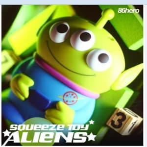 3D Alien Toy Story iPhone 5 Case From 86Hero