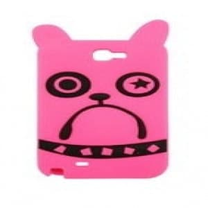Marc Jacobs Galaxy Note 2 Case Pickles the Bulldog Pink