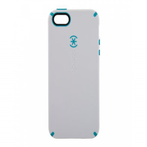 Speck Products CandyShell White / Peacock for iPhone 5 5S
