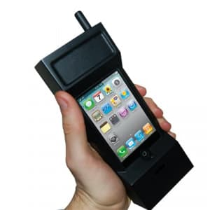 Thumbs Up 80's Retro iPhone Case Headset for iPhone 4 & 4S, 3GS