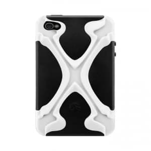 SwitchEasy CapsuleRebel X Dual Protection Case for iPhone 4 & 4S - Skeleton