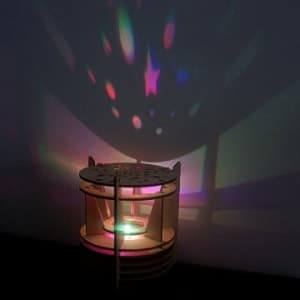 DIY Solar Kits Starry Nights Star Theater Planetarium Projector