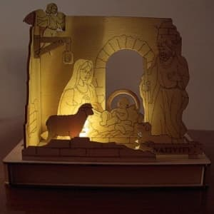 DIY Solar Kits Nativity Christmas Scene