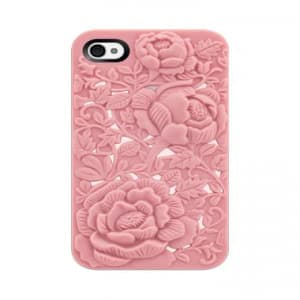 SwitchEasy Avant-Garde Blossom iPhone 4 & 4S Case - Pink