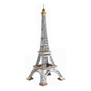 3D Giant Paris Eiffel Tower 1:400 Metal Model Puzzle