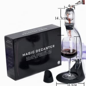 Magic Decanter Essential Red Wine Aerator Set Perfect Gift Bar Tools Art