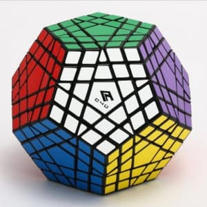 MF8 Gigaminx 5-Layer Magic Cube Puzzle Toy - DIY Black