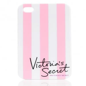 Victoria's Secret VS Stripe Case for iPhone 5 5s Pink
