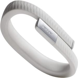 Light Grey Jawbone Up Activity Tracking Wristband