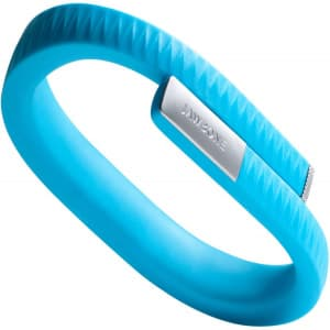 Blue Jawbone Up Activity Tracking Wristband