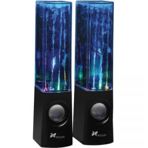 Dancing Water Speakers with Four LEDs