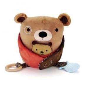 Skip Hop Hug & Hide Activity Toys-Bear