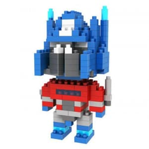 Loz Toy Nano Building Block Gift Series Optimus Prime Transformer