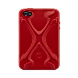 SwitchEasy CapsuleRebel X Dual Protection Case for iPhone 4 & 4S - Red